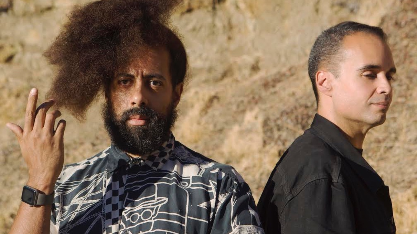 Comedian and musician Reggie Watts teams up with extraordinary producer John Tejada as Wajatta.