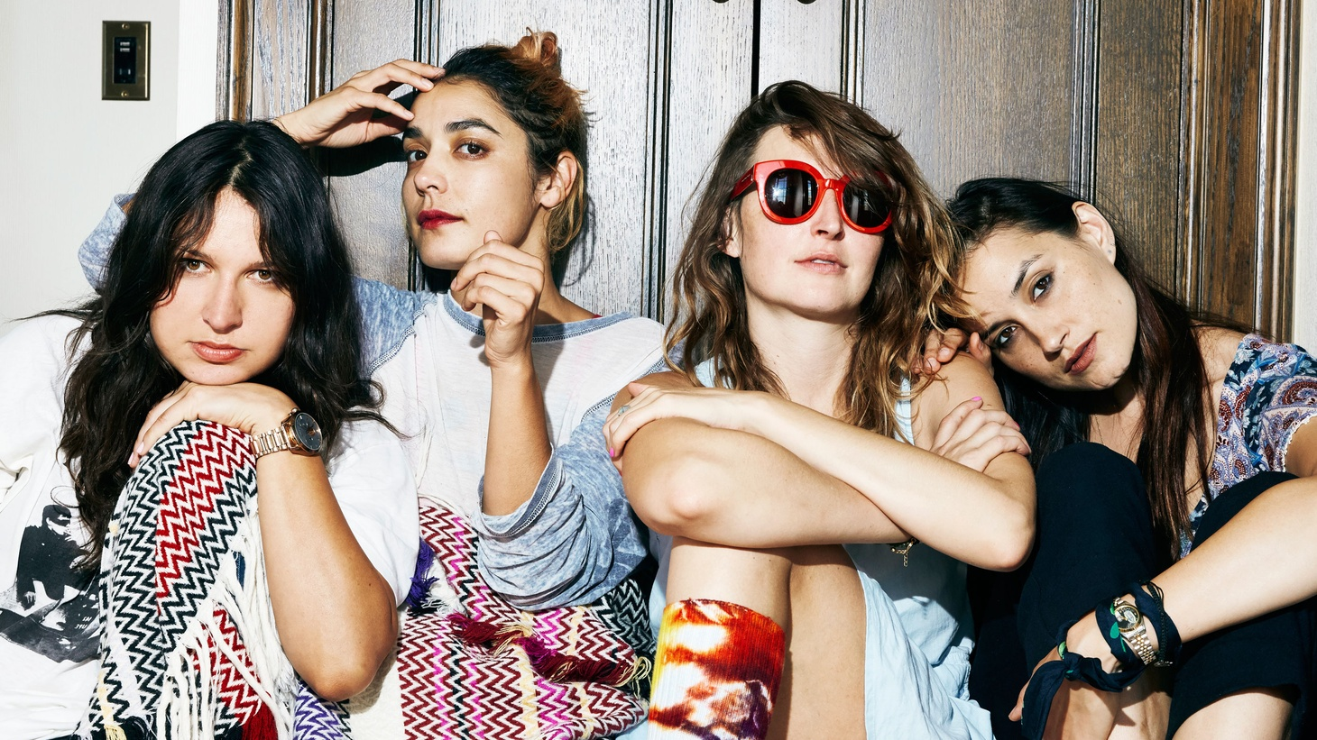 The members of Warpaint spent the better part of 2015 working on solo projects and their own endeavors. A new year brought them back into their LA downtown studio where they got cracking on a new album.