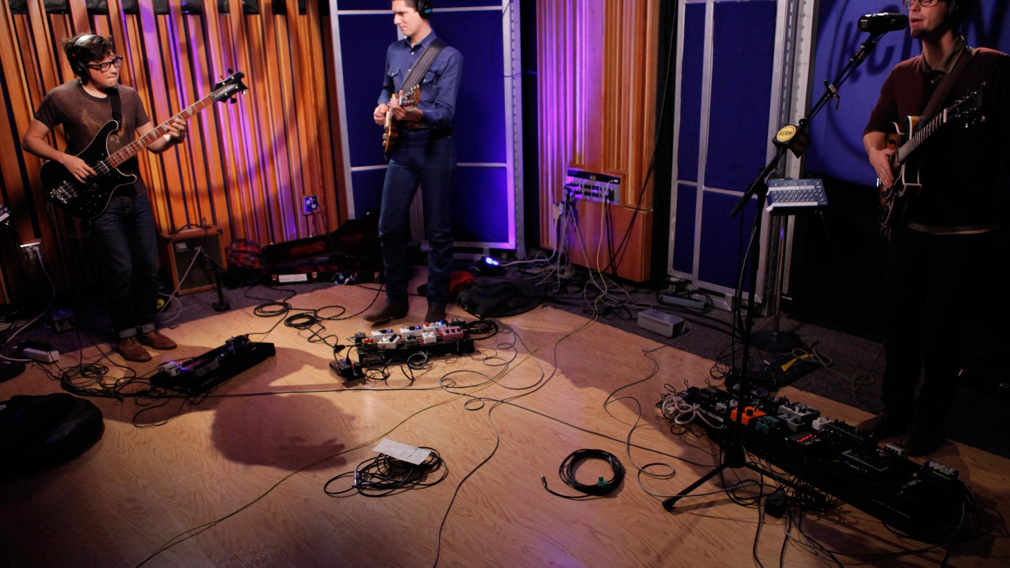 Austin-based White Denim recently returned to Morning Becomes Eclectic for a live session.