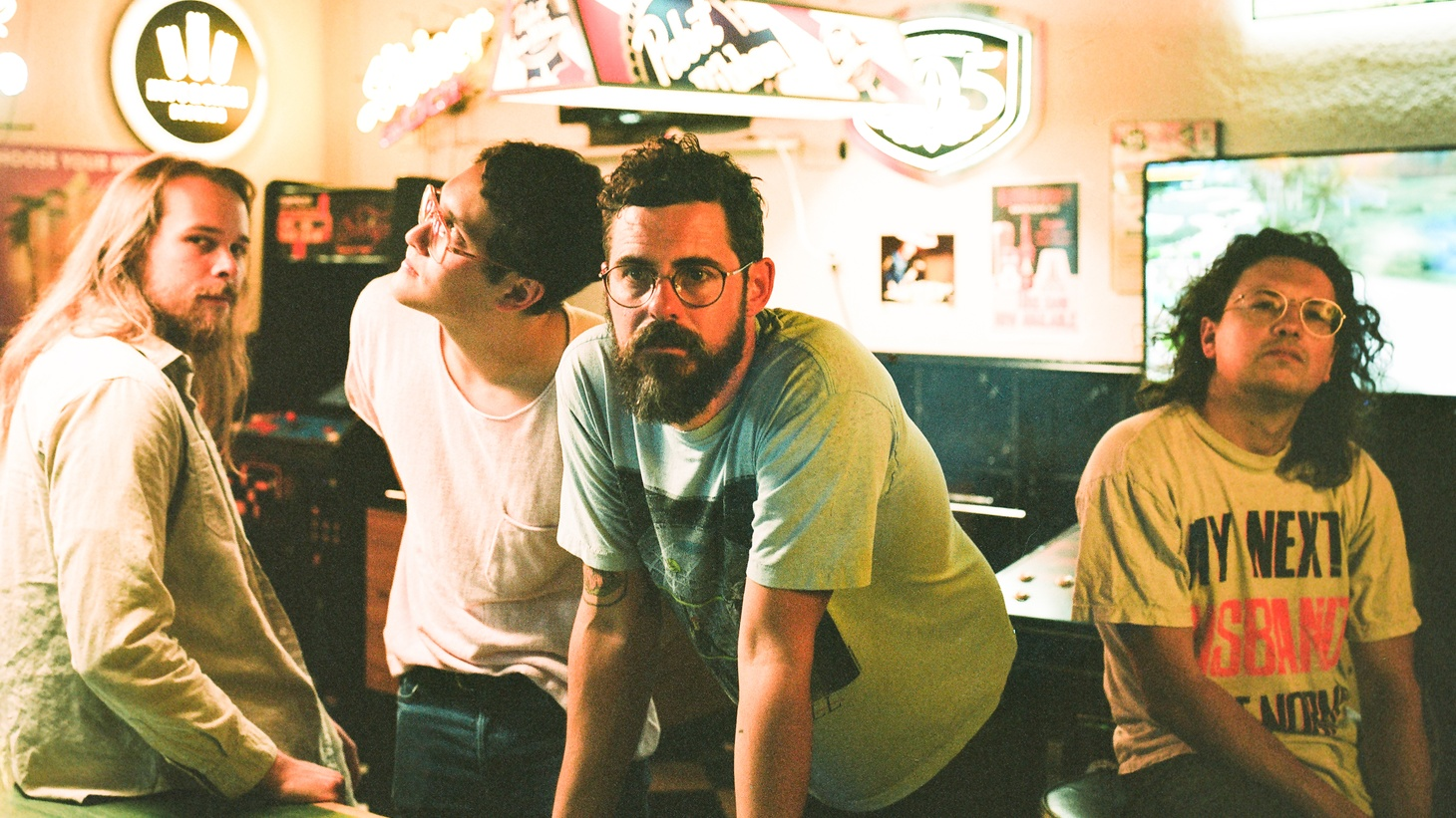 After SXSW was cancelled this year, Austin band White Denim got busy reimagining their new reality. Their 30-day album project  World As A Waiting Room  was recorded remotely at their homes.