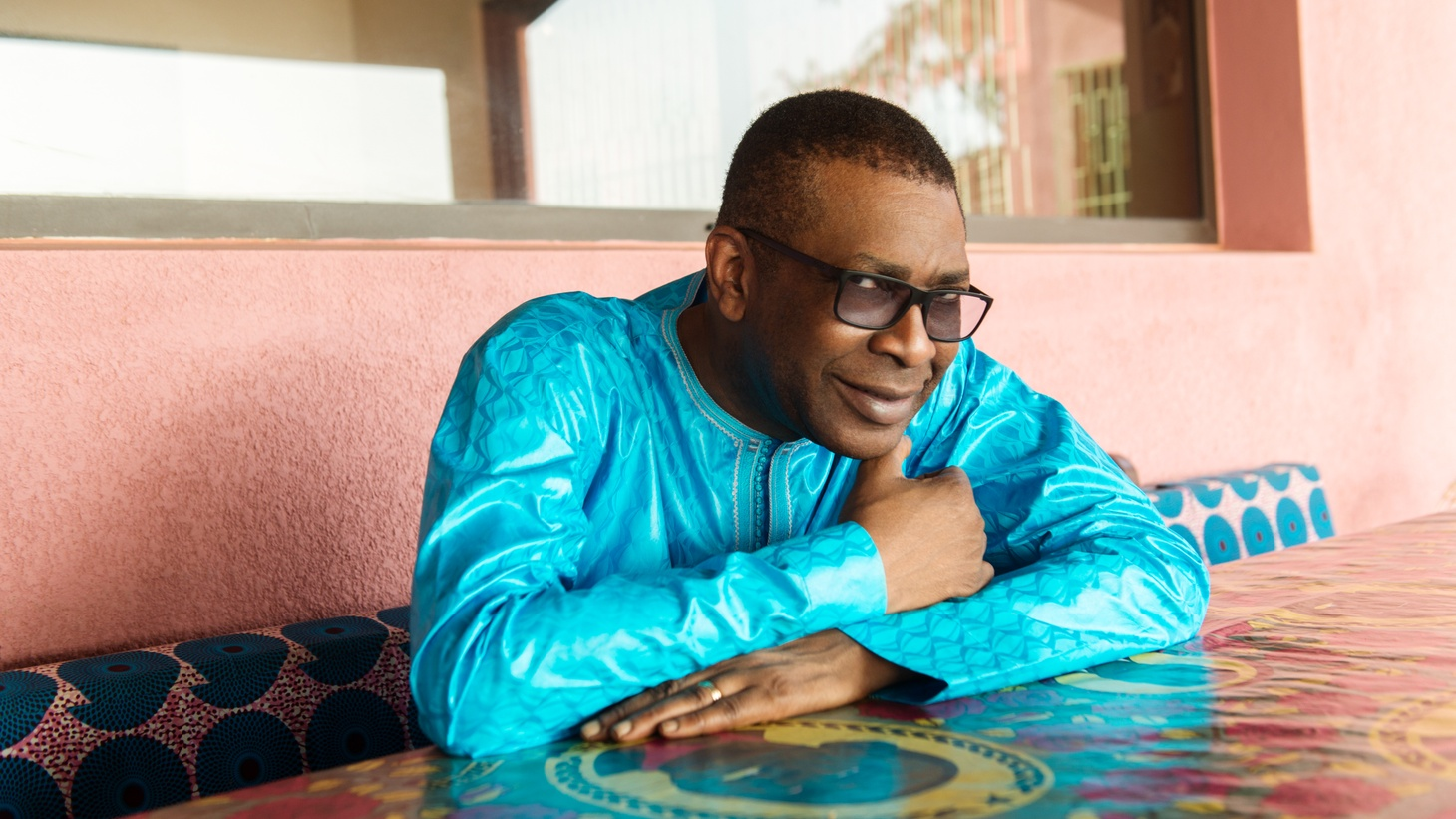 """In honor of our fathers, we turn to the great Senegalese singer Youssou N'Dour, who shares """"My Child"""" (featuring the late great Nigerian master drummer Babatunde Olatunji)."""