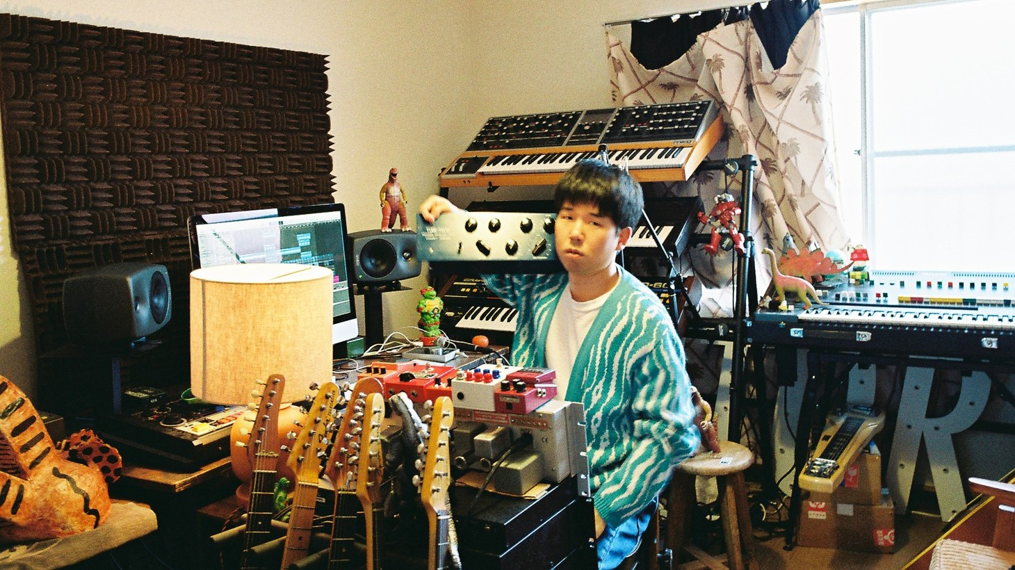 """""""Omaemo,"""" Japanese for """"you too,"""" can be found on Tokyo-based singer/songwriter Yuma Abe's debut solo album, """"Fantasia."""" The song captures a moment of unexpected introspection, joined by Devendra Banhart on guitar."""