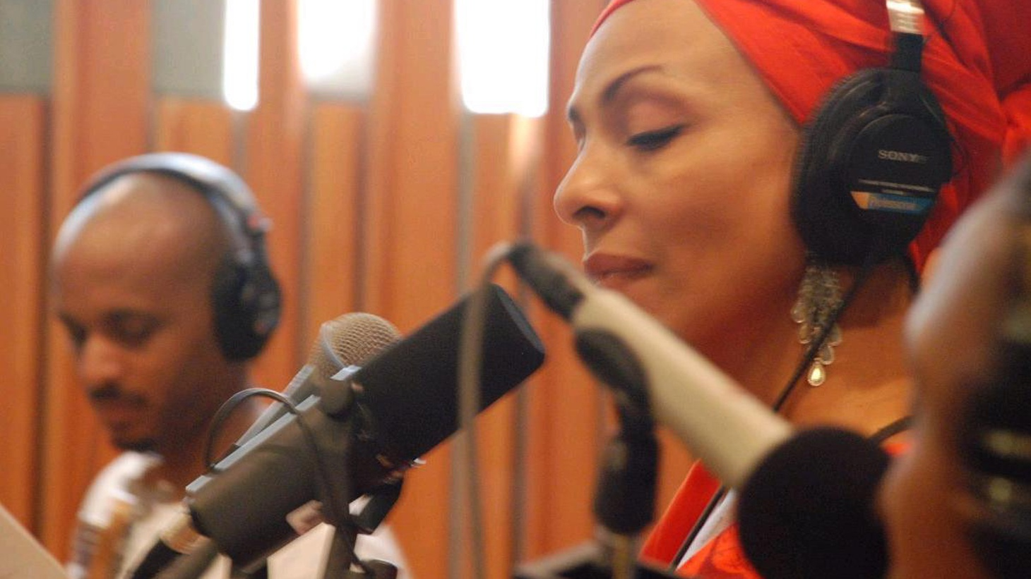 ...from ReCreation.   Zap Mama delivered another impeccable session on Morning Becomes Eclectic yesterday. Today's Top Tune is a song that they weren't able to include in their set.