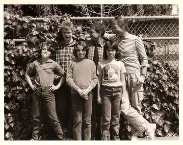 Charlie Haden & family
