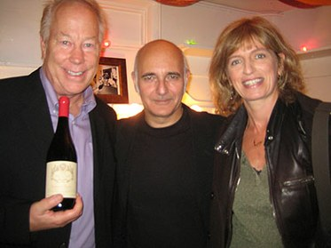 Ludovico Einaudi with Tom Schnabel and Gemma Dempsey