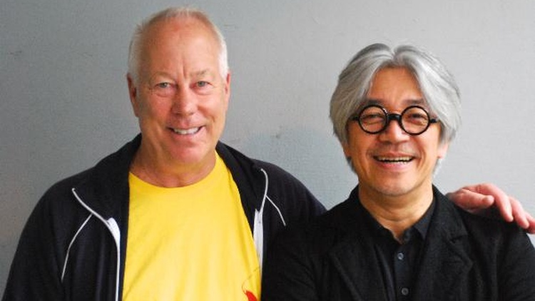 """Tom interviews Ryuichi Sakamoto, the Academy Award-winning Japanese composer about his love for John Cage, Toru Takemitsu, his fame, and his latest two-CD set, """"Playing the Piano and Out of Noise."""""""