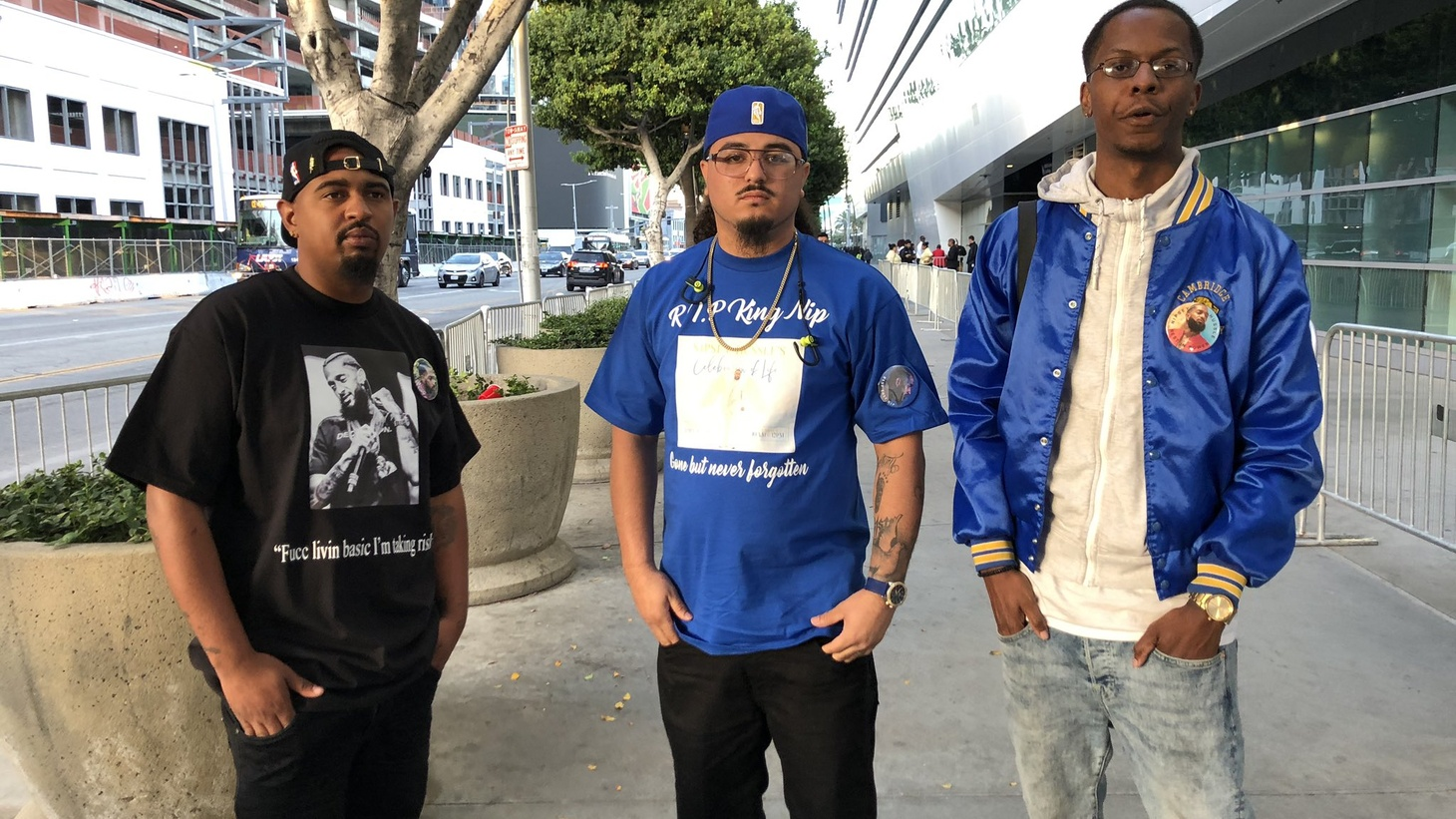 Mourners gather at Nipsey Hussle's memorial service