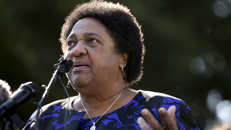 Shirley Weber has been thrust into the awkward position of administering the California recall that could oust the man who appointed her.