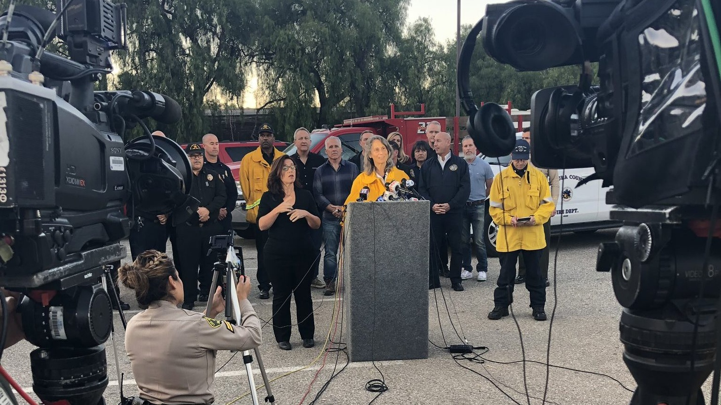 Ventura County Supervisor  Linda Parks  / Photo Courtesy of VCFD