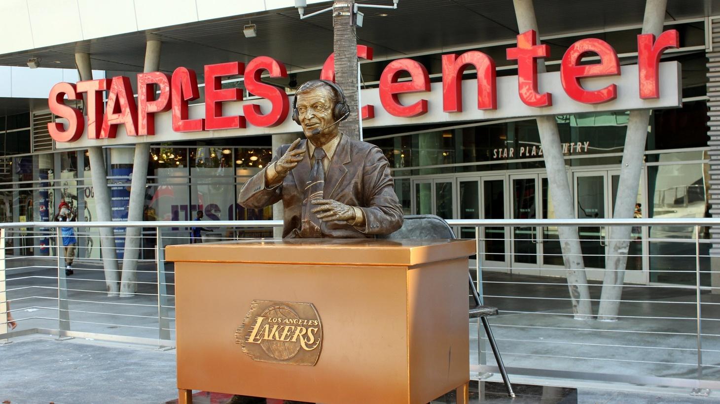 Staples Center.