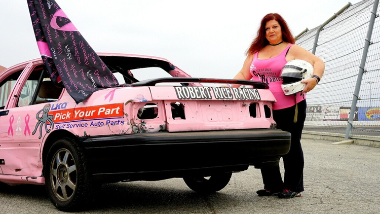 Appetite for destruction: The all-female demolition derby is a smash at Irwindale Speedway