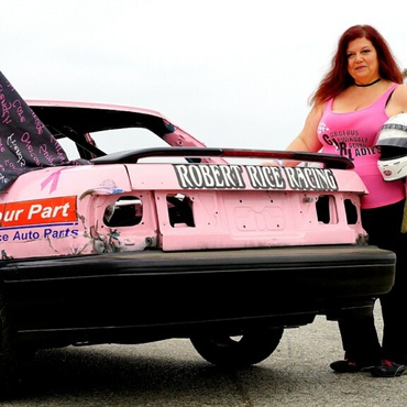 Once a year, an all-female demolition derby at Irwindale Speedway offers a high-adrenaline night of destructive mayhem — all to benefit breast cancer research.