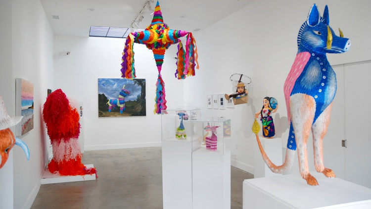 Piñatas are often the centerpiece at parties, birthdays, and quinciñeras. But they're also artistic objects that have been overlooked.