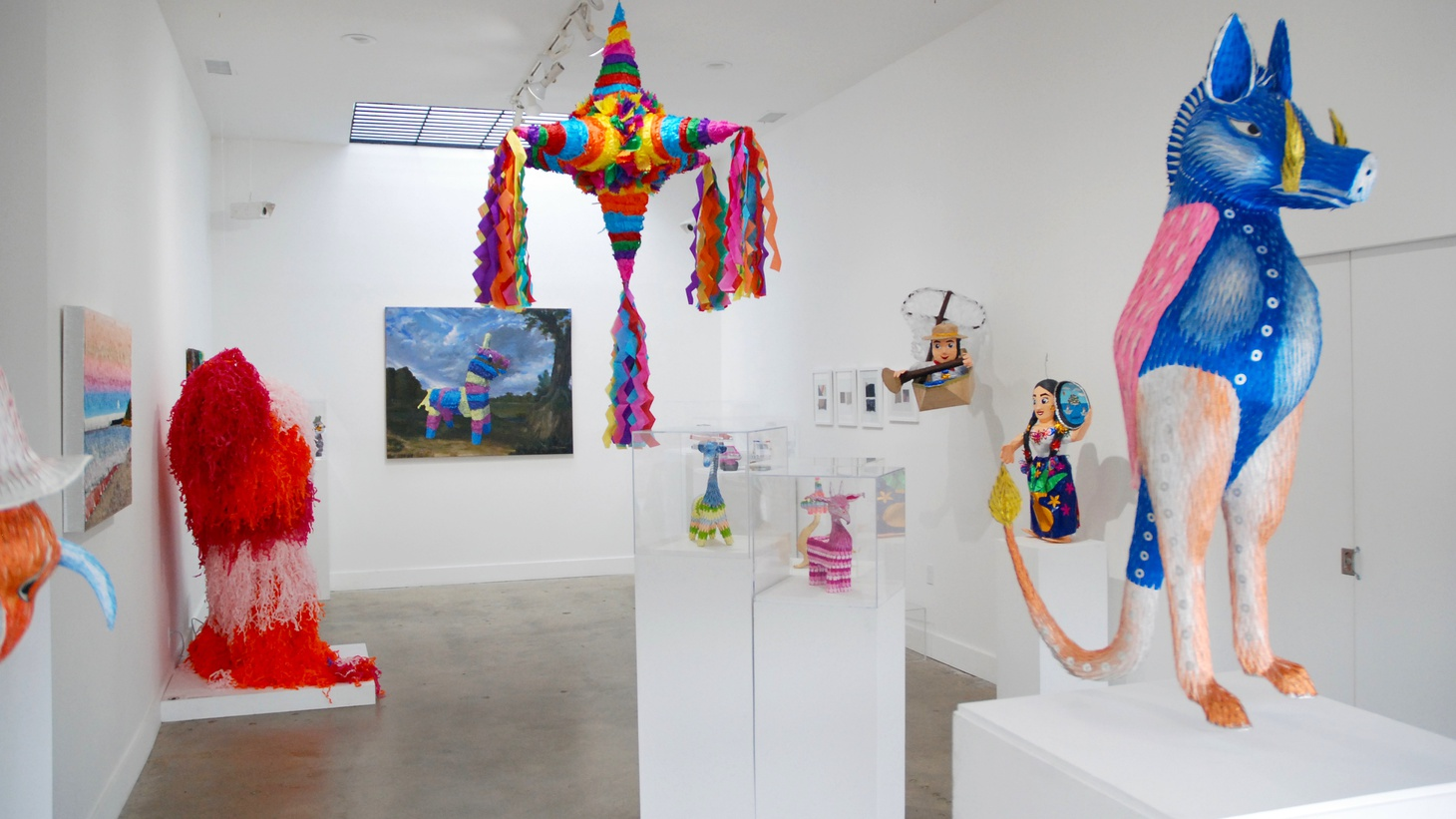 Piñatas are creatively designed and put together by hand — with love and care. But we also ddiscard these beautiful objects. That's according to Emily Zaiden, curator of LA's first-ever piñata exhibit.