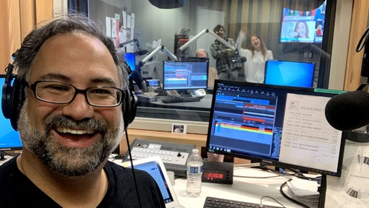It's been one year since Steve Chiotakis has been in the host seat for Greater LA, with producer Jenna Kagel, engineers Phil Richards and PJ Shahamat in the control room.