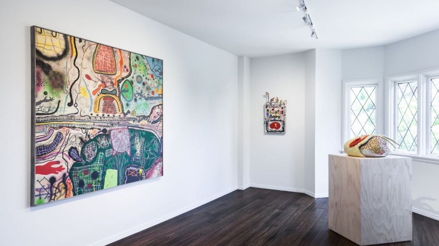 Dilexi Gallery: Seeking the Unknown runs until August 10th, 2019 at the Parker Gallery.