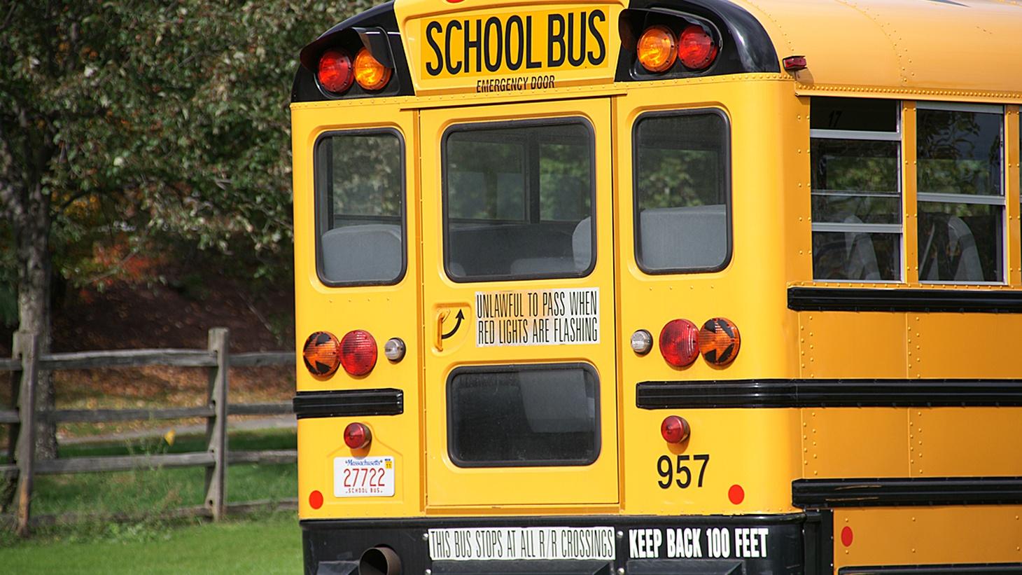 American School Bus  Credit: Ian Britton/CC BY-NC 2.0.