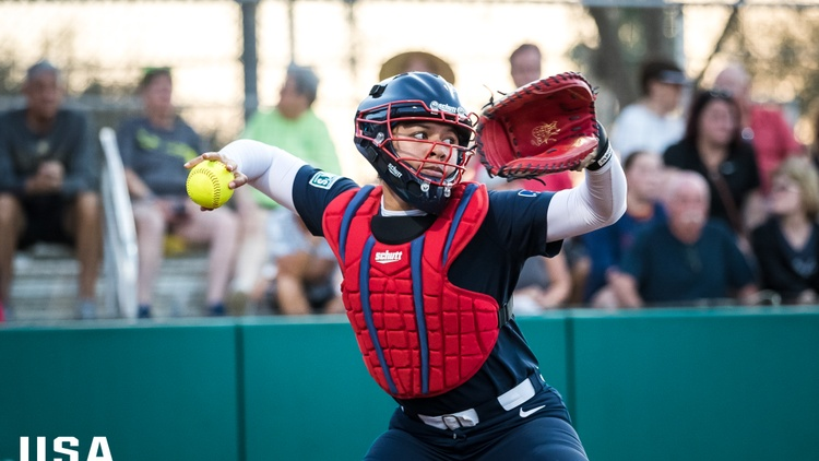 Garden Grove resident and softball catcher Dejah Mulipola has been preparing for the games since she found out she made the Olympic team last October.