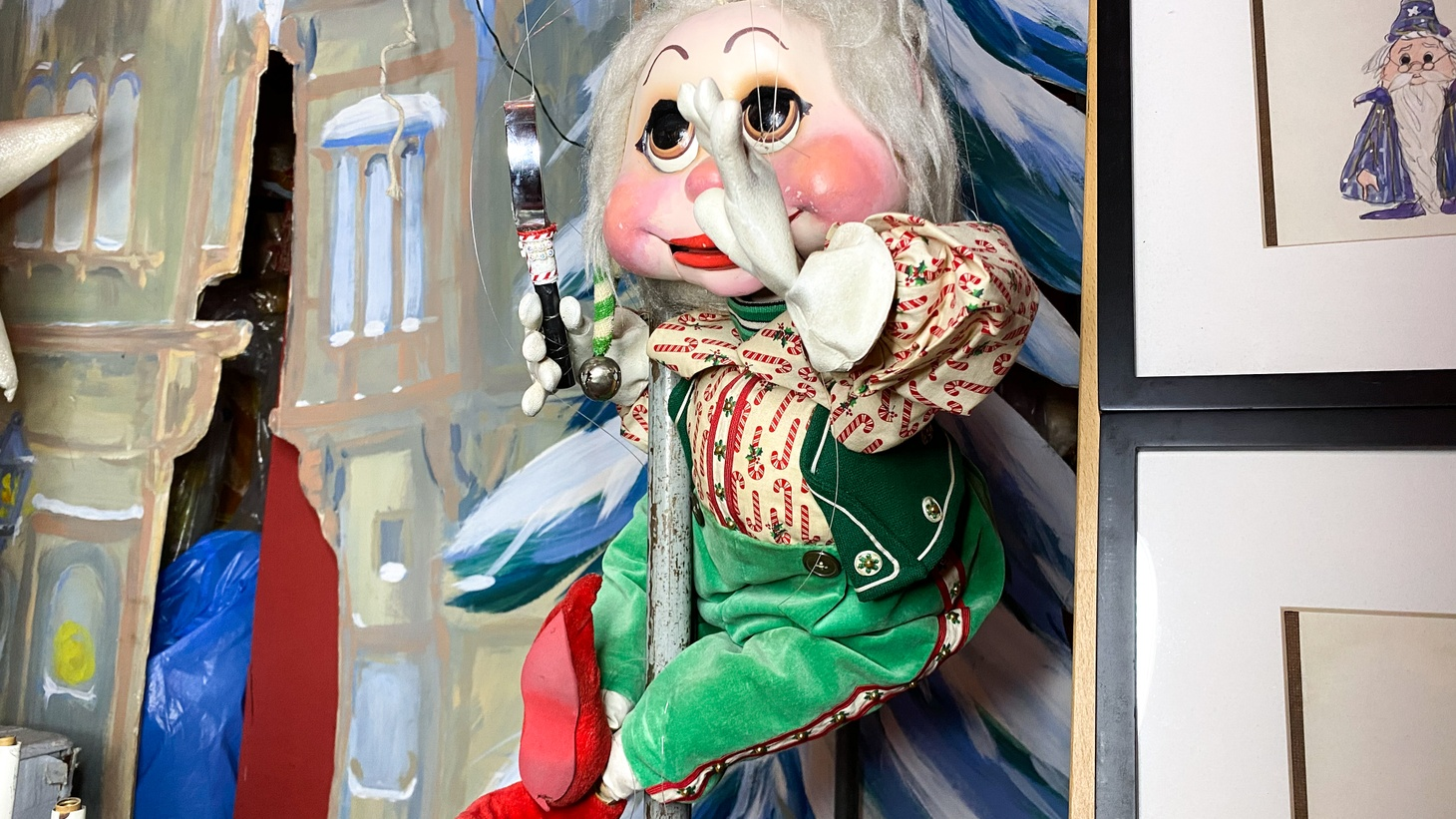 One of the puppets at Bob Baker Marionette Theater. Photo by Angel Carreras.