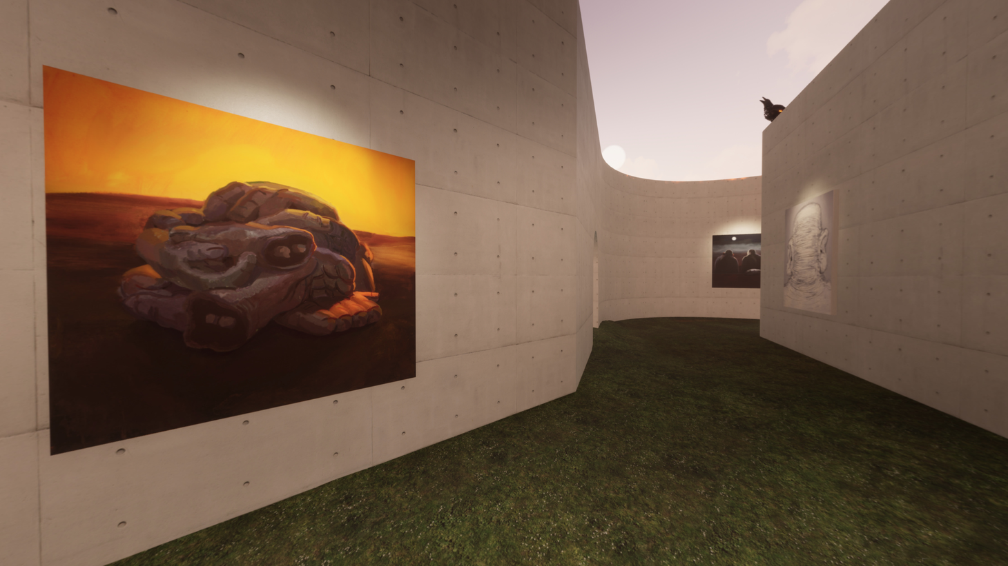 A new exhibit makes the gallery experience feel more like a video game.