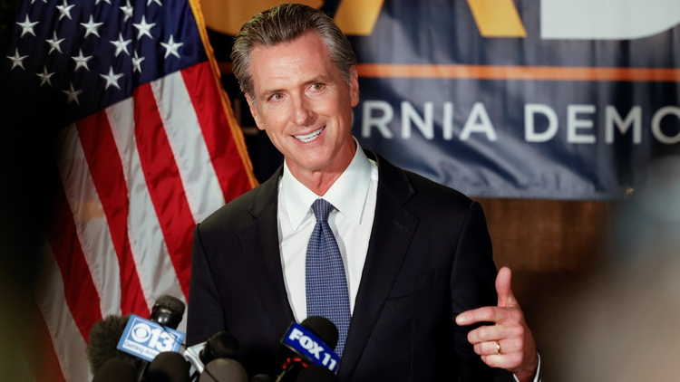 Results from the California recall election came in early and quickly Tuesday night.