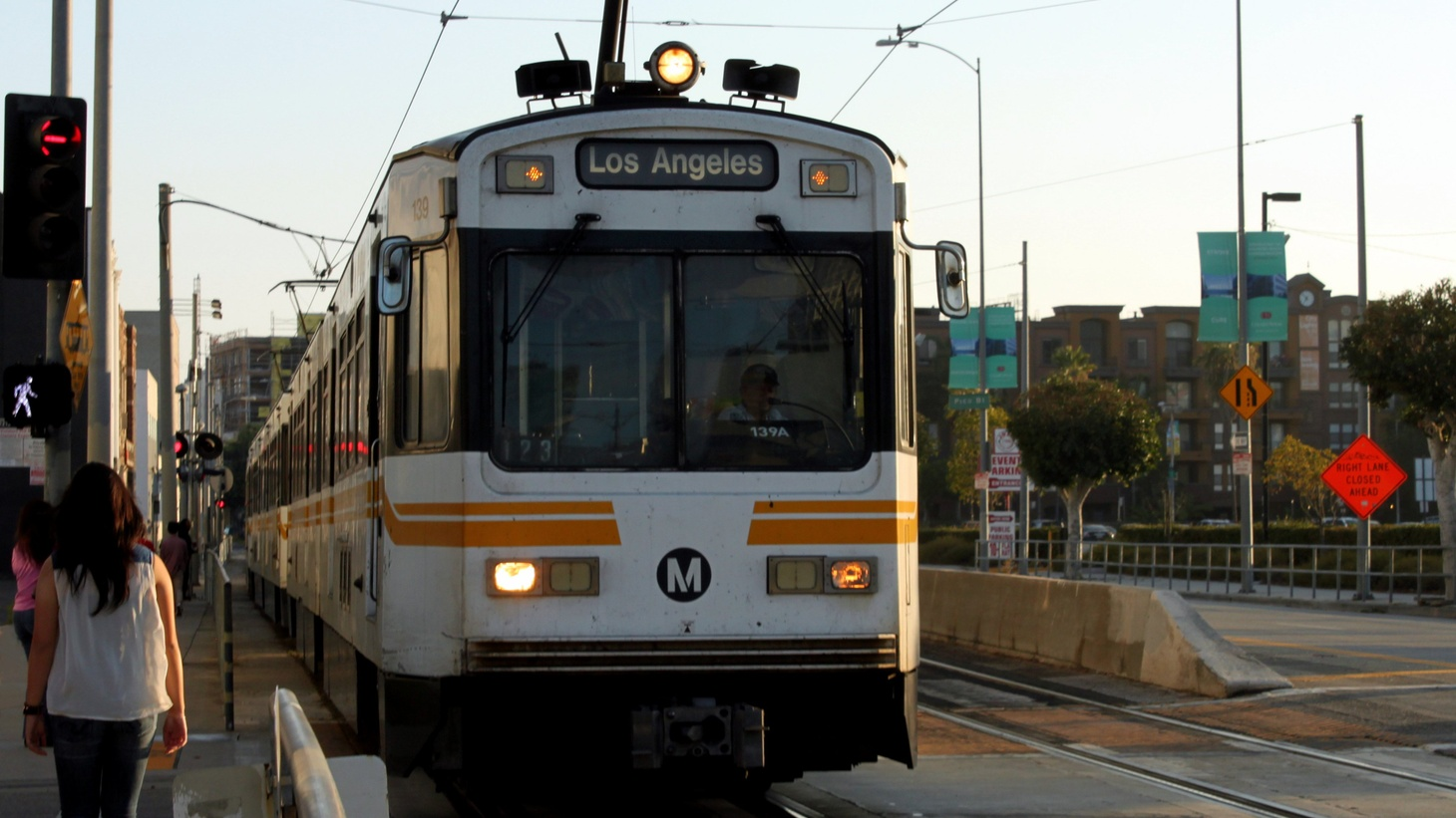 Metro Blue Line / Expo Line at Pico station.