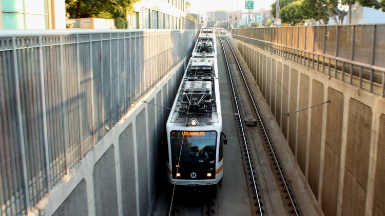 """Fewer people are riding public transportation in LA and that's a national trend, says Phillip Washington, CEO of LA County's Metropolitan Transportation Authority.    """"Part of this…"""