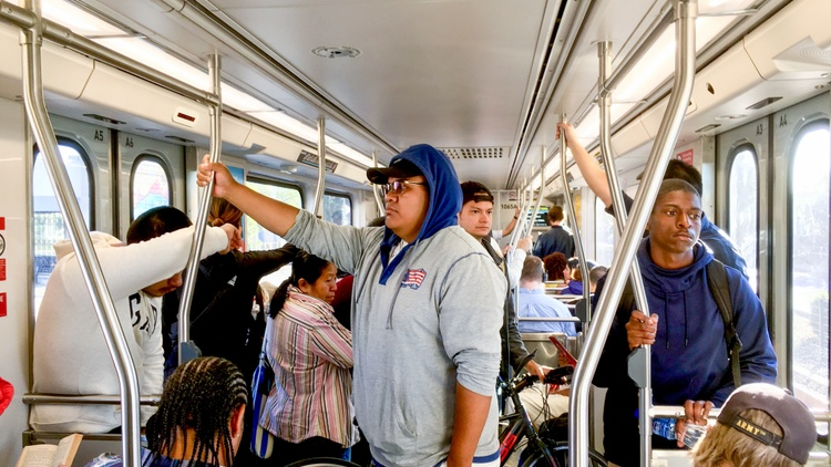A ride on the Expo Line has become a fist-clenching affair: commuters' faces and knuckles turn white at the prospect of running into their fellow rider when the train abruptly stops.…