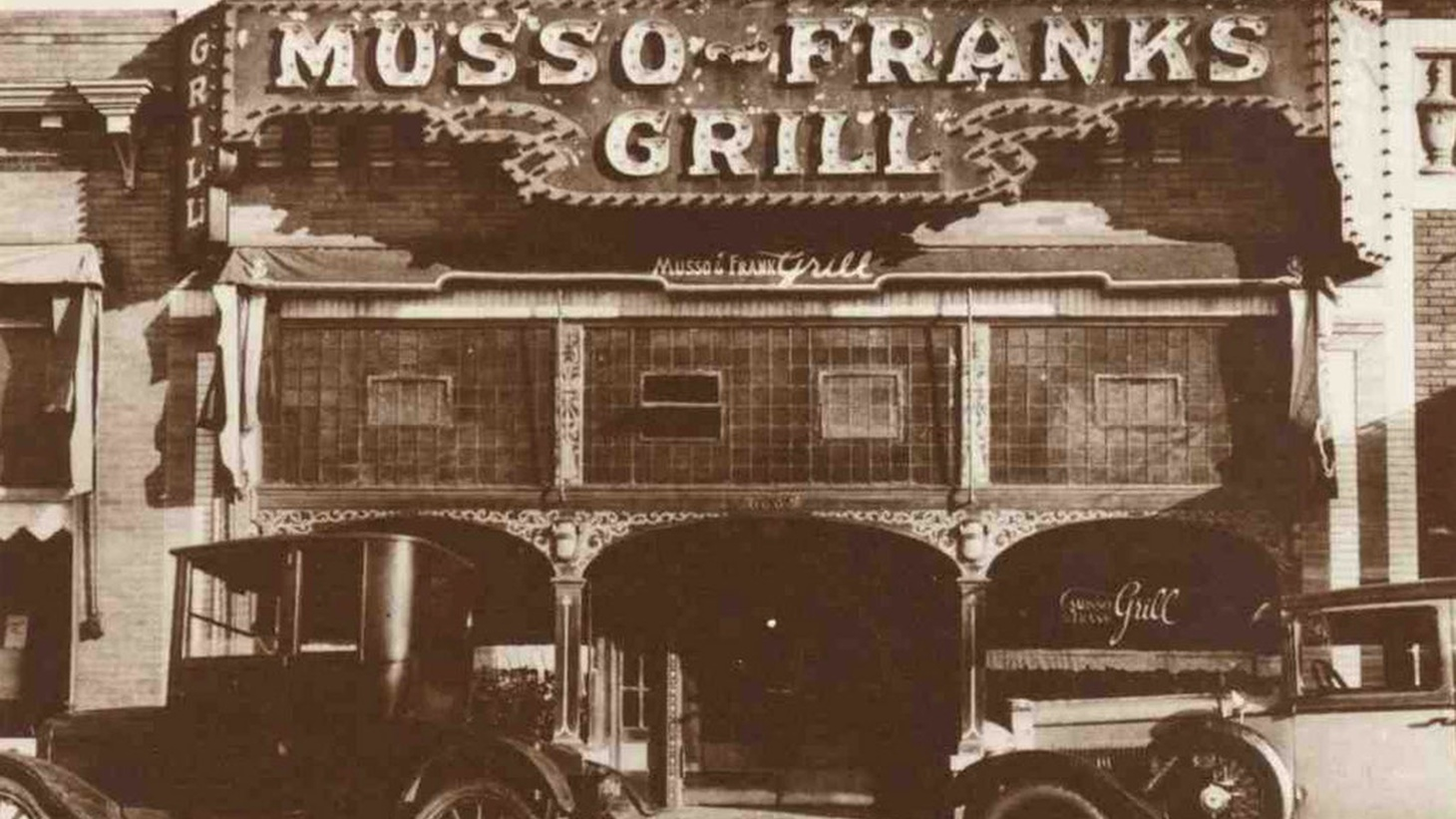 Musso & Frank in 1928.