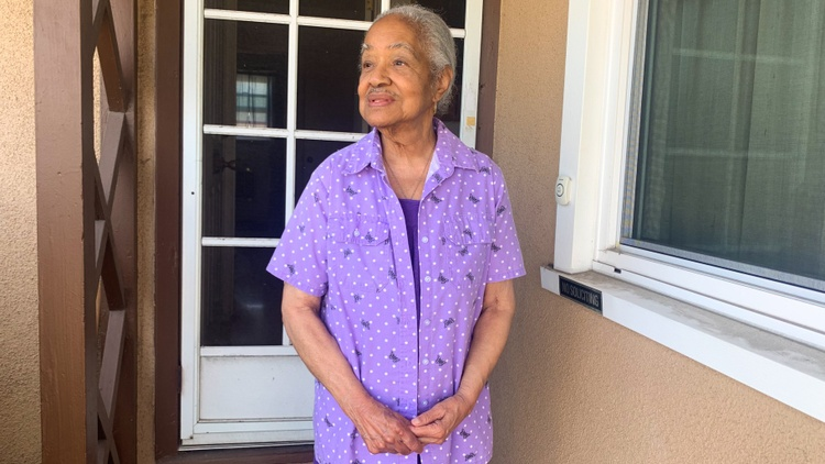 Gwendolyn Lang, an 80-year-old widow, lived with two of her adult sons. At the time, the bank foreclosed on her home.