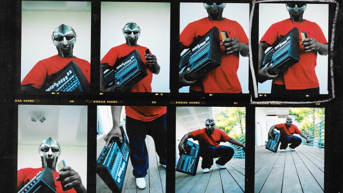 MF Doom, Los Angeles, 2003.
