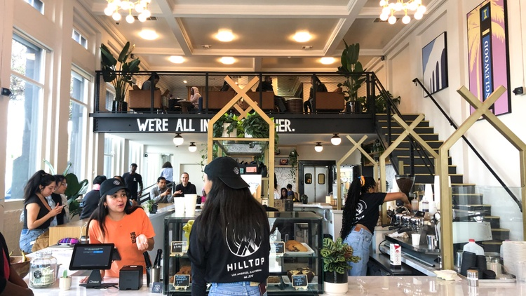 Coffee shops in gentrifying LA: Designs matter