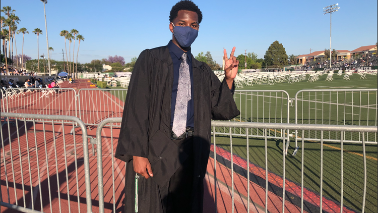 Celebrating high school graduations in-person after long pandemic