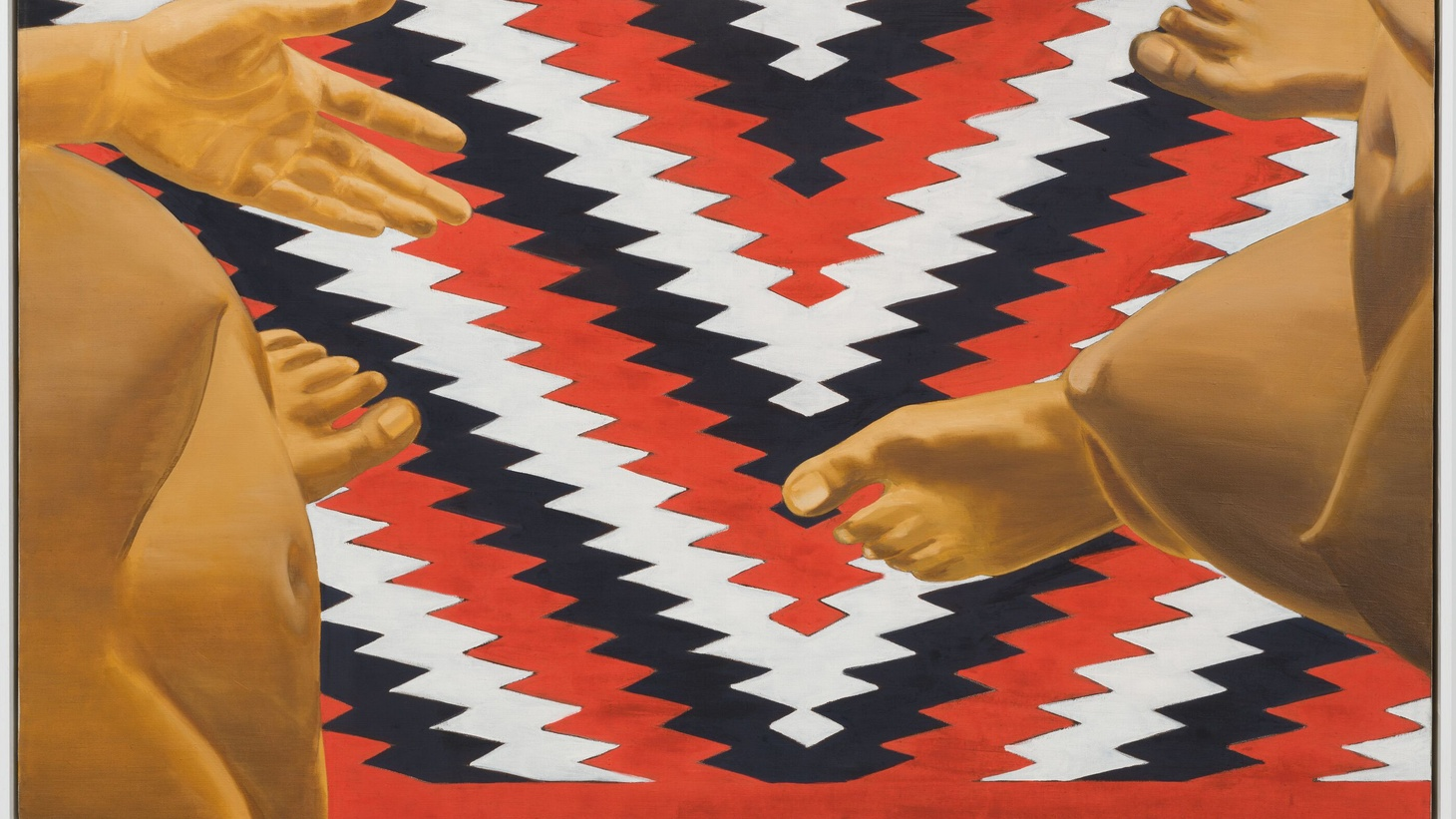 Lead Photo:Luchita Hurtado, Untitled (detail) (1970). Oil on canvas, 30 x 50 inches. Image of the artist and Hauser & Wirth, © Luchita Hurtado.