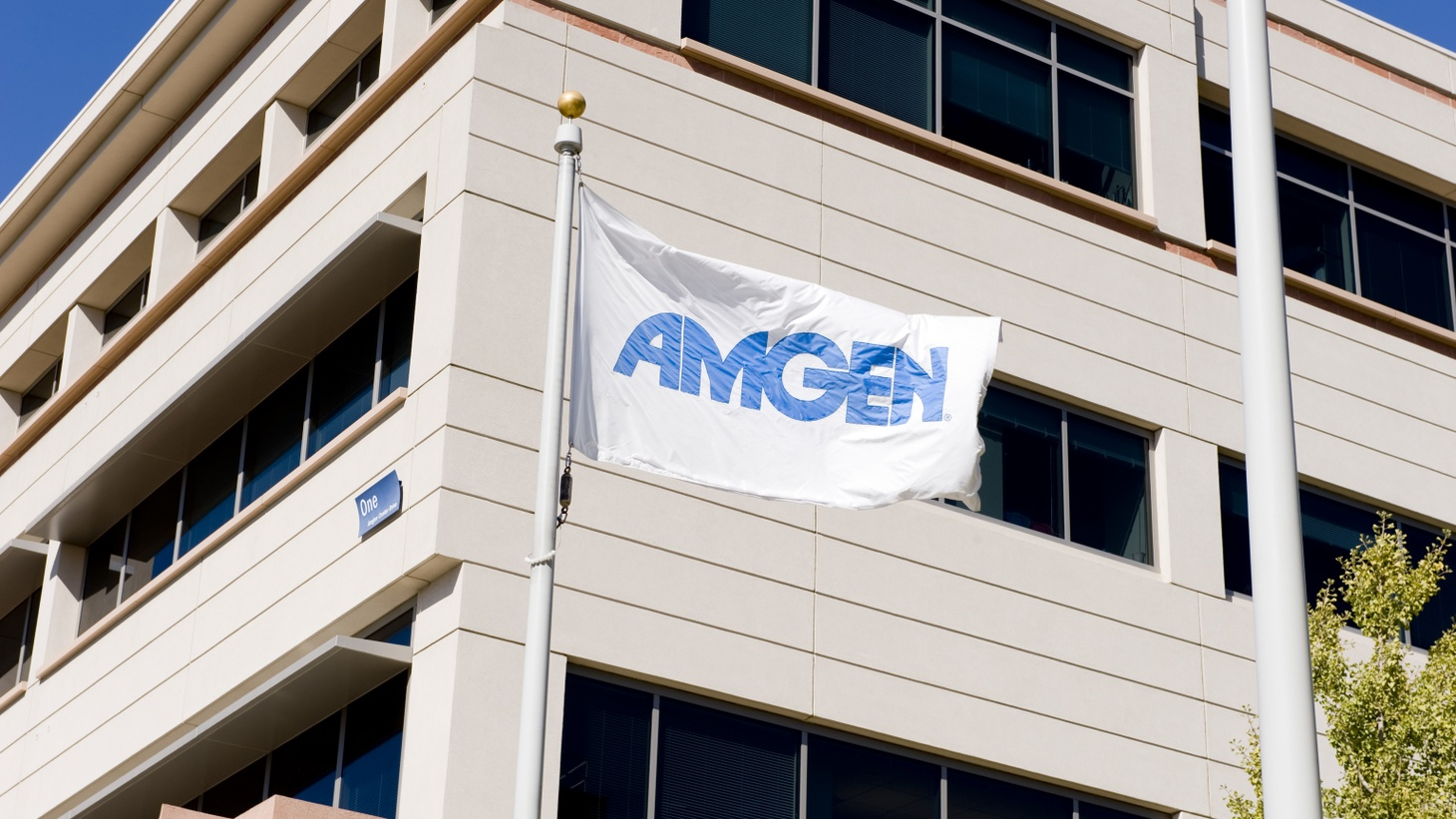 Amgen headquarters is based in Thousand Oaks, CA. To find a COVID-19 treatment, staff there are working with antibody-producing B cells from people who've recovered from the virus, says Dr. David Reese.