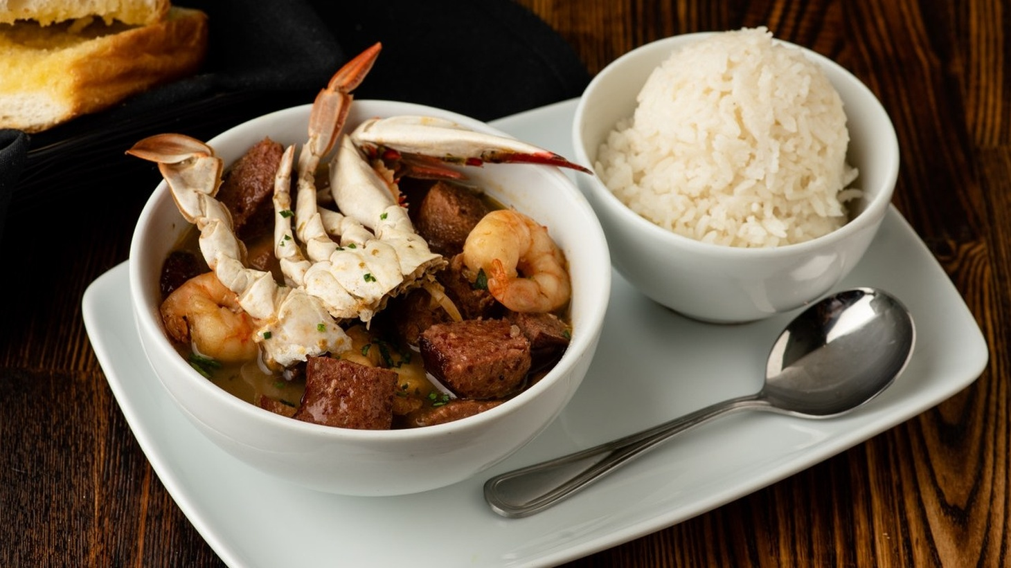 The gumbo at Harold & Belle's in Jefferson Park is on the menu for dineLA, which runs from September 1-18.
