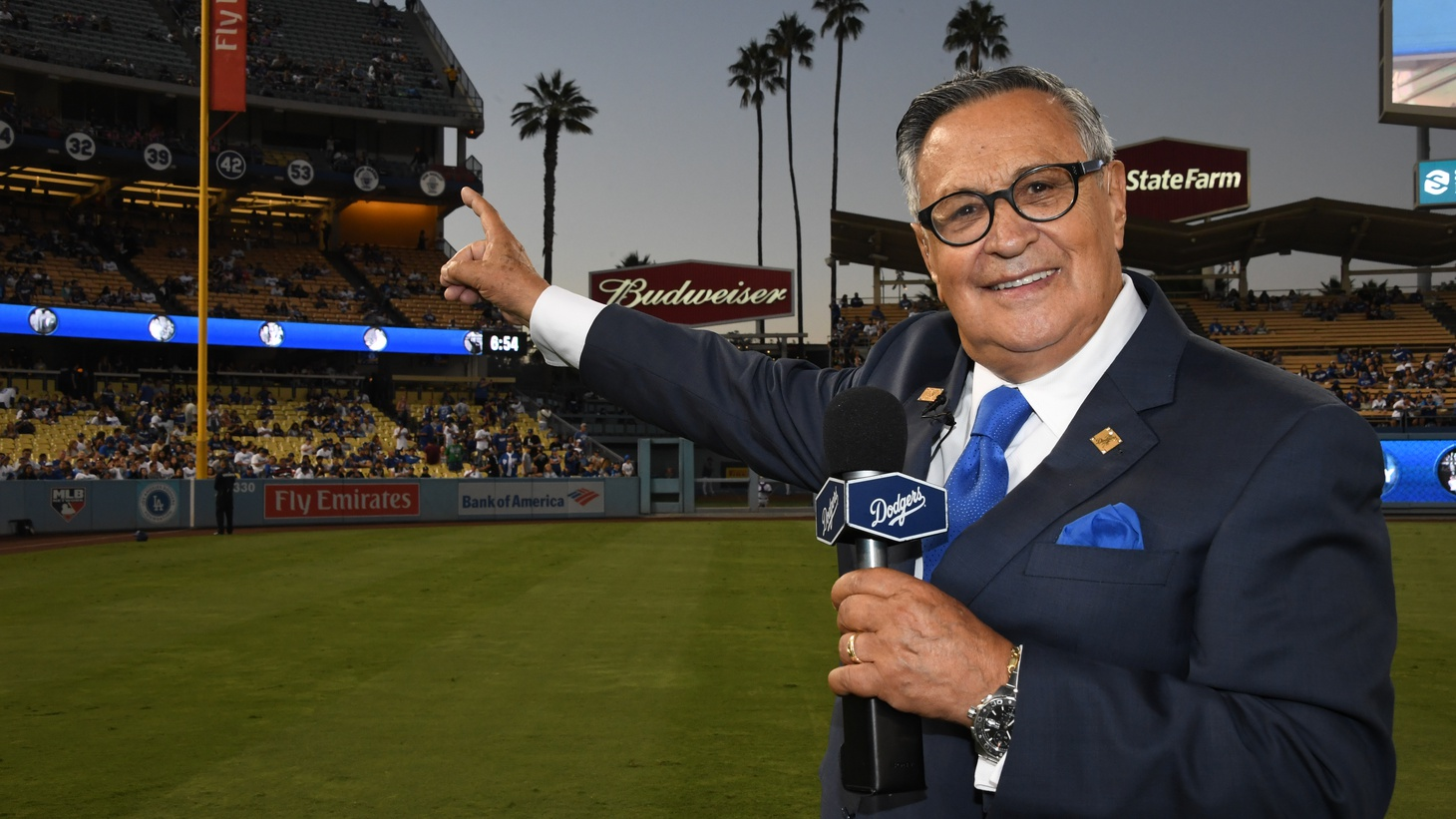 After six decades behind the mic, 2022 will be Jaime Jarrín's final year as the Spanish language broadcaster for the LA Dodgers.
