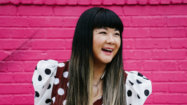 "Since the pandemic began, writer and comedian Jenny Yang has taken her act to a show called ""Comedy Crossing."""