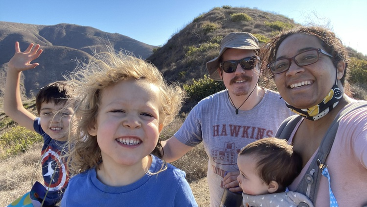 KCRW hears from local moms and dads about how they've been managing this pandemic year.