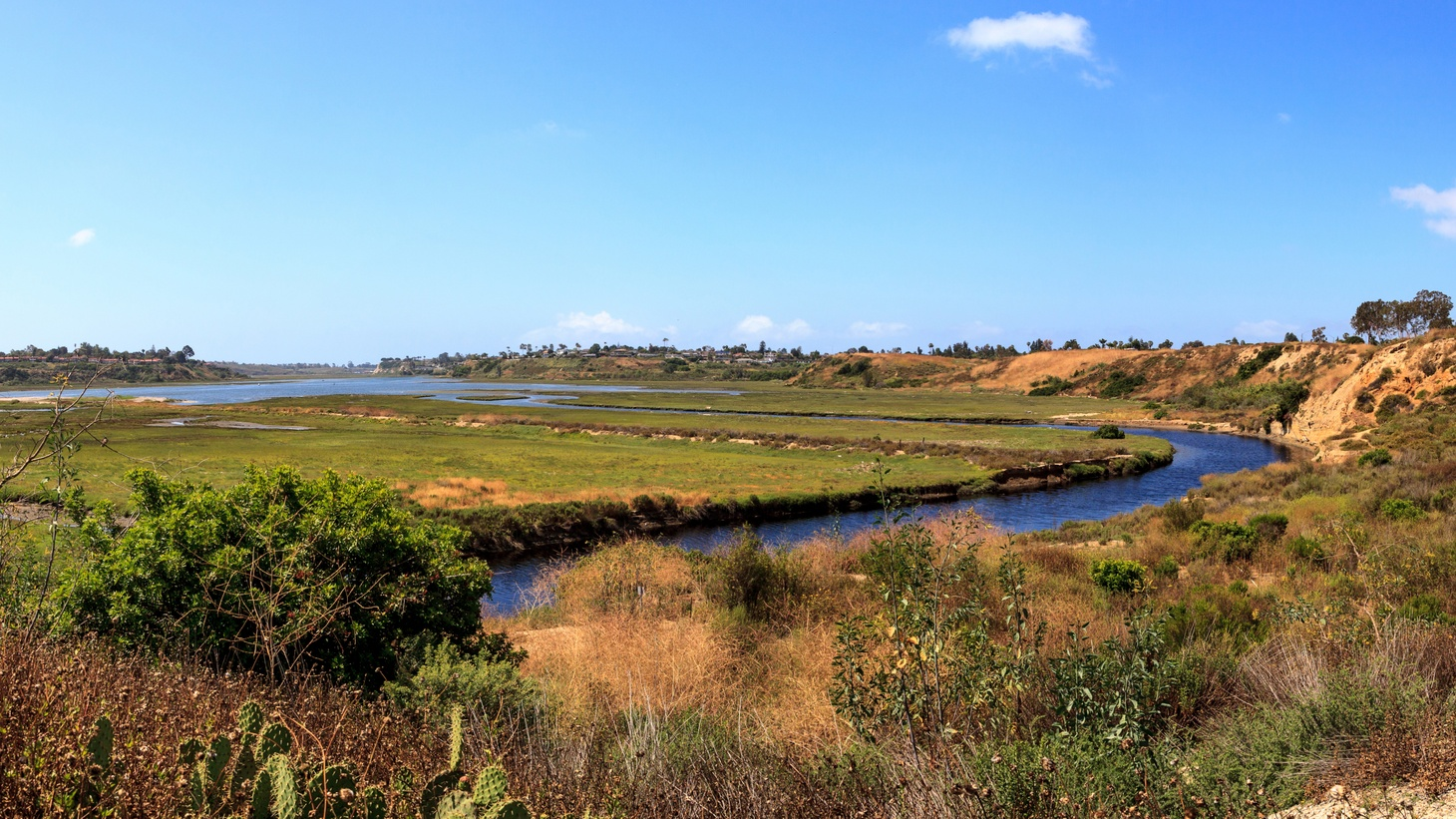 In Upper Newport Bay, a parcel of land is being sold to a wealthy local political donor named Buck Johns for $13,000.
