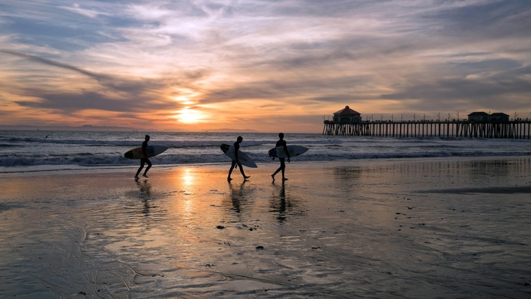 There are many surf spots in Southern California, but only San Onofre contains a mashup of bohemians, the military, and a power plant.