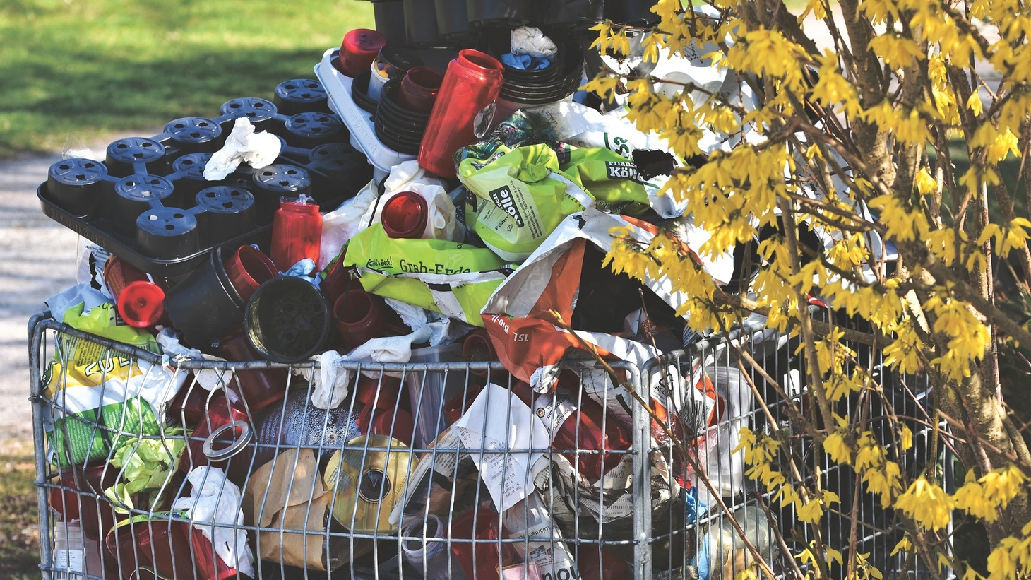 Stay-at-home orders have resulted in a spike in residential waste.