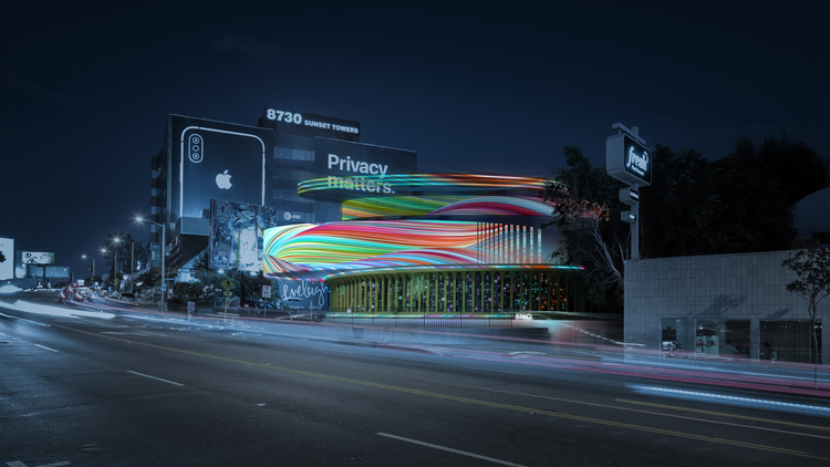 West Hollywood called for artistic digital billboard designs that would generate revenue for the city and improve buildings and public space.