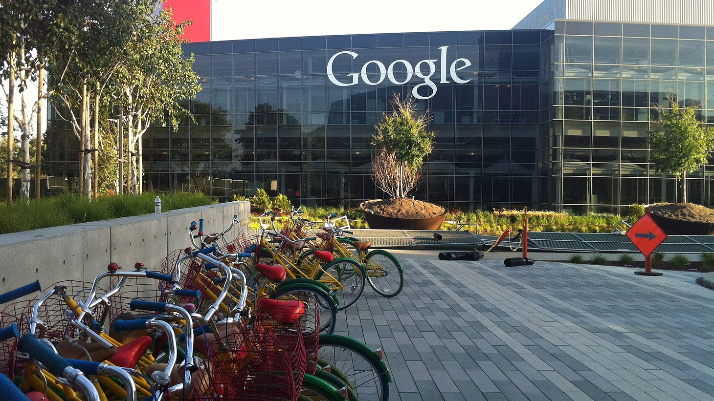 Google campus in Mountain View, California.
