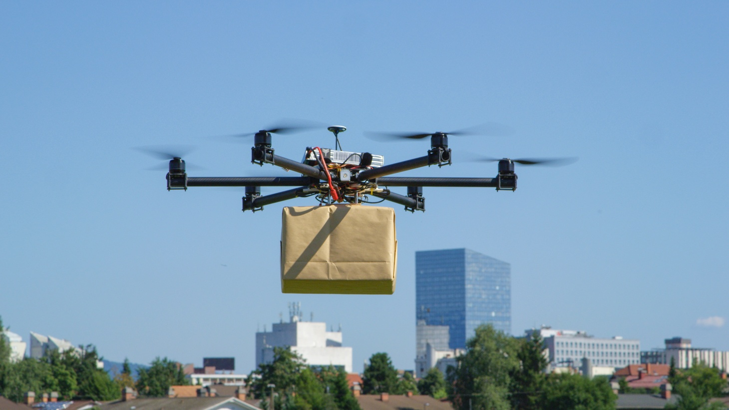 """""""If you think of the number of people, post-COVID, who are getting deliveries on a daily basis, many of those deliveries could be accomplished with a drone, small packages, right under five pounds. I expect that number will be much more than 100,000 flights a day,"""" says Gregory McNeal, a law professor at Pepperdine University."""