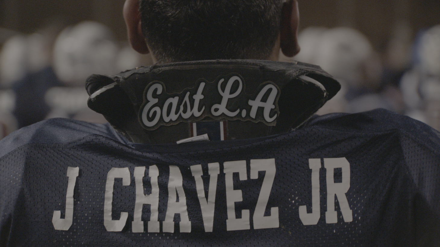"""J. Chavez Jr. dons an East LA jersey in """"The All-Americans."""""""
