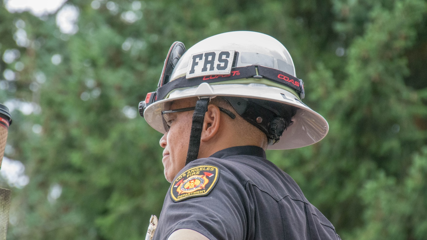 """""""When I was taking my battalion chief's exam, I had one of the other test takers, male, question why I was there,"""" says Kris Larson. """"In an open forum, he felt just fine making that comment."""""""