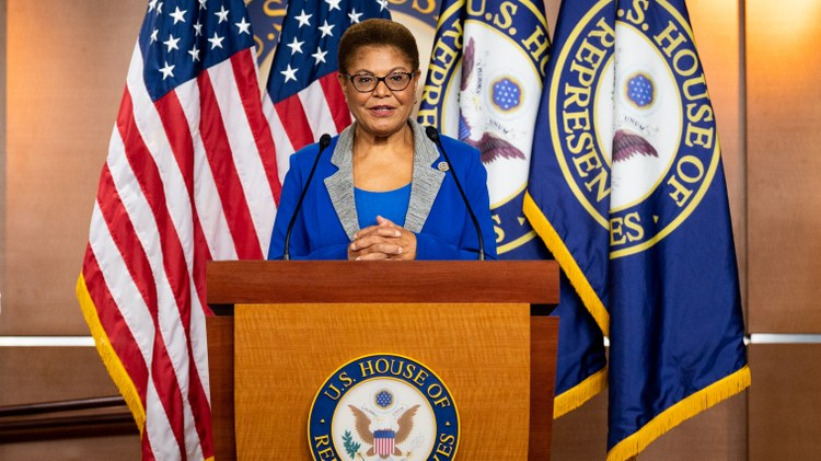 Karen Bass talks about DNC, mail-in voting, coronavirus-related federal aid, calls to defund the police, and Joe Biden picking Kamala Harris as his running mate.