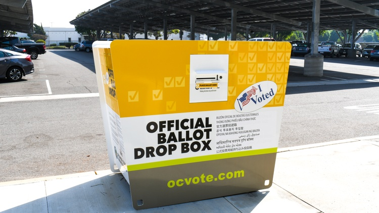 There are millions of eligible voters in America, including 8 million in California alone.