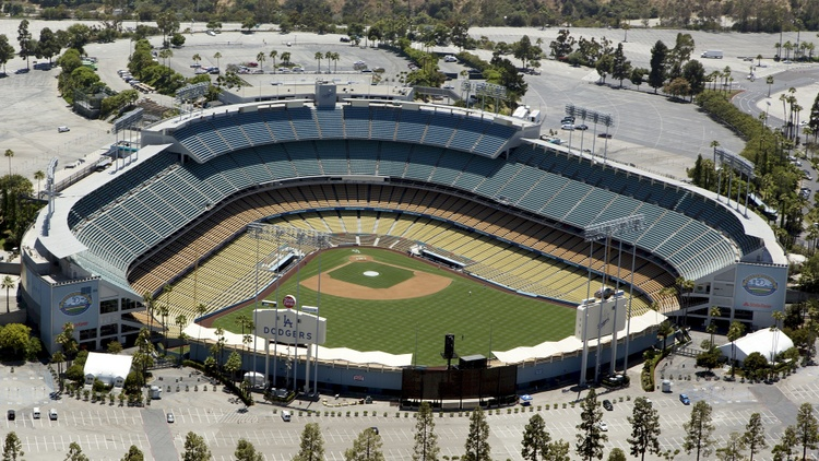 The idea of a gondola serving Dodger Stadium has been around for a few years. It would be a cable system with pods.